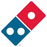 Dominos 50 Percent Off Deal Promo Logo